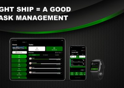 Tight ship = Task Management | Yacht Manager App