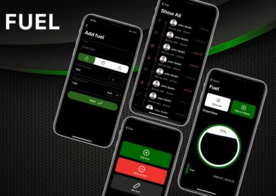 Manage your fuel | Yacht Manager App